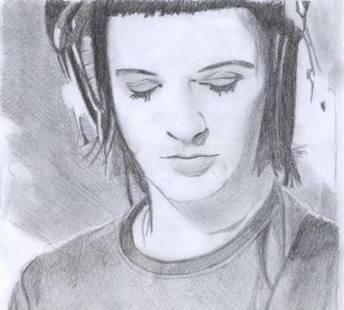 Brian Molko by stinkymongoose