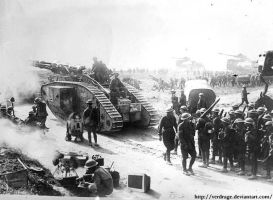 WWI Armored Division by VerdRage