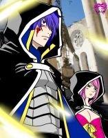 Jellal and Meredy. FT 364 by TheDemonLady
