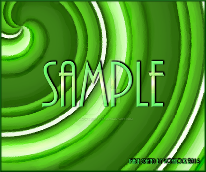 GreenSwirlBackground-SAMPLE-IMAGE By-WoahLock by I-Am-WoahLocked