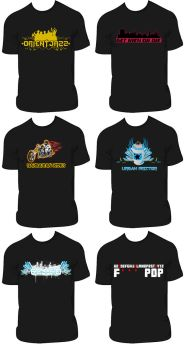 T-Shirt Pack 2 by CRiMiNaL1453