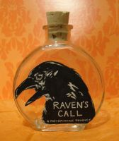 Raven's Call by AmberStoneArt
