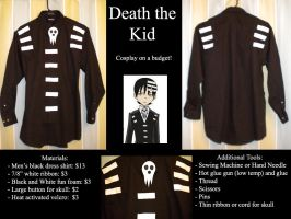 Death the Kid: Budget Cosplay by LightsShadow0848
