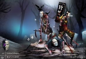 Undead - Puppets by dinmoney