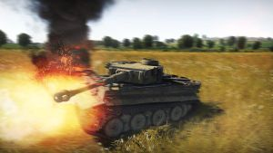 Tiger at Kursk // War Thunder Ground Forces by BillyM12345