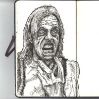 Sketchbook - Crazy person by keiross