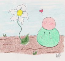 First Bloom and Dangos by KyrieGlows89