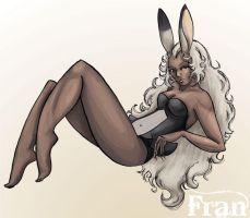 Fran Pin Up by jsheaisaninja