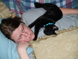 wifey and prozac kitty by BilboobliB