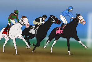 Belmont Stakes 2012 by fulociraptor