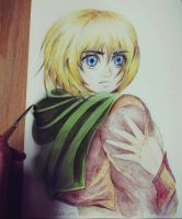Armin Arlert fanart by realm-of-lost-minds