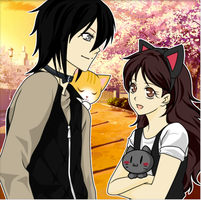 Me and Darkness love cats by cat55