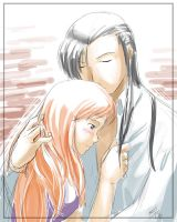 GateMUSH RP: Ling and Orihime by shadrad