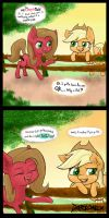 I made a comic for Pun Pony! by Darkonix