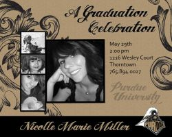 Graduation Party Invitation by Alley9