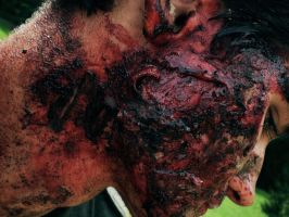 grenade victim make up by shanrag