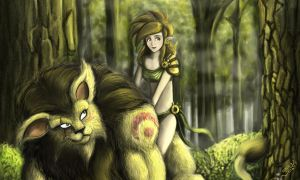 Forest Friends by EdBourg