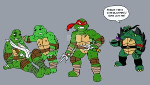 TMNT: Slash And Destroy by xero87
