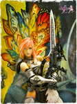 Final Fantasy XIII-2 ~ Lightning Butterflies by NimbusOrion