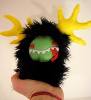 Baby Monster for Nut-case by loveandasandwich