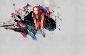 Kristen Stewart,new wallpaper by mysterkonieczko