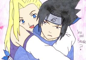Ino and Sasuke by Orihime-chan