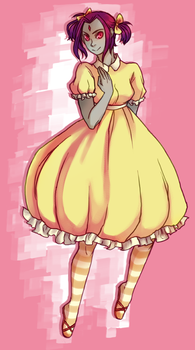 i like to draw dresses by cafechan