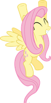 Fluttershy Vector - Fall Weather Friends - Smile by Vulthuryol00