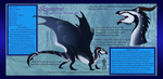 Skyanirae Reference Sheet by Blayzefyre