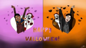 Happy Valloween! by GreenYosh