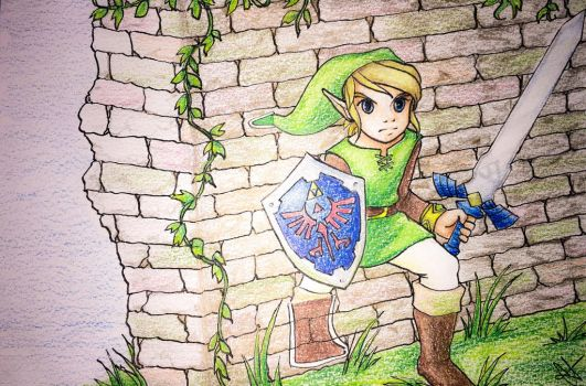 Link: A link between worlds by Lanalula