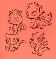 Littlest Pet shop Pokemon by GantzAistar