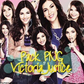 Victoria Justice PNG Pack #1 by PopEditions