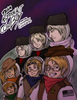 Team Space Cowboy by McMitters