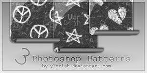 Photoshop patterns by ylorish