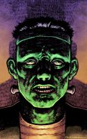 Frankenstein Monster by sobreiro