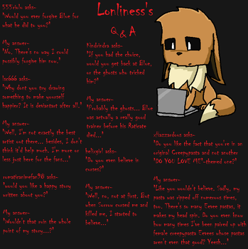 Lonliness's Q and A Page 19 by lonlinessplz