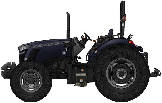 Motor Horse 551 Tractor by AC710N87