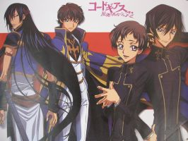 My Code geass poster by Vero-desu