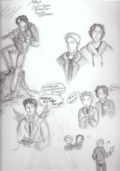 SPN sketches by triumph-forks