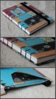 Coptic travel notebook by FynnMitsuki