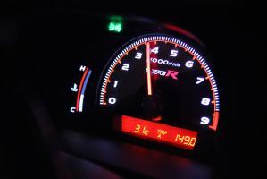 Honda Civic FD2 Type-R Gauge by gilangkharisma