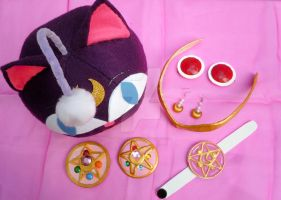My Handmade Sailor Moon R Season Accessories by SailorSamara