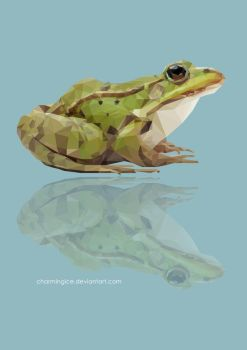 Low Poly Frog by CharmingIce