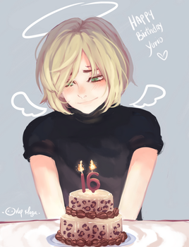 Happy Birthday Yurio by orlyvameza