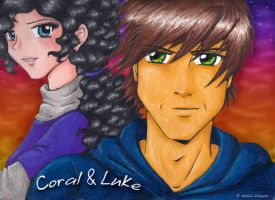 Coral and Luke by nataliewhipple