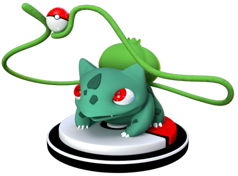 #001 - Bulbasaur by MondaysRaptor