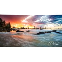 Sunset at Burleigh Heads on the Gold Coast by AXNLphotography