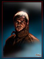 Harrison Ford: Blade Runner by cohensghost