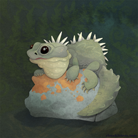 Tuatara by WonderDookie